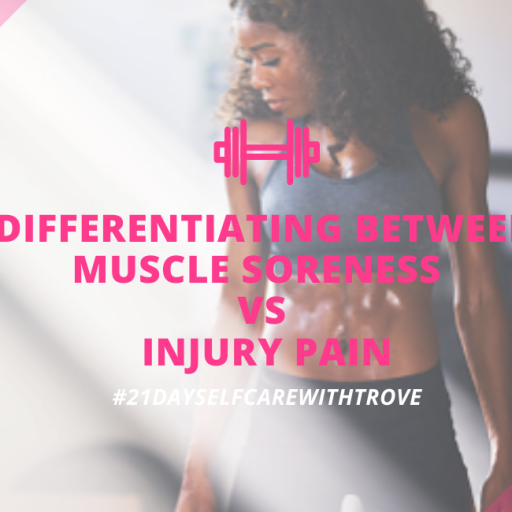 Exercise – Is It Muscle Soreness Or  Am I Injured