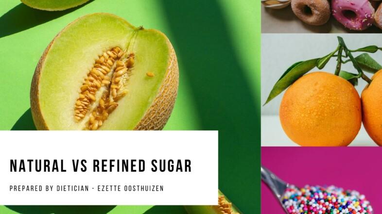 Natural vs Refined Sugar